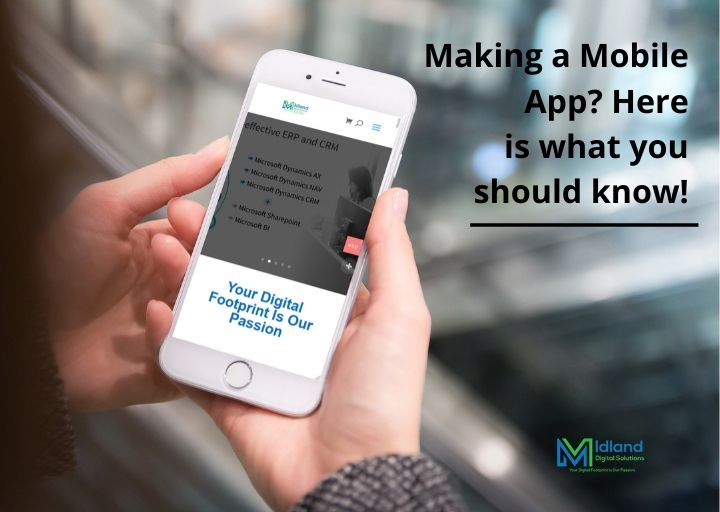 Making a Mobile App? Here is What you Should Know