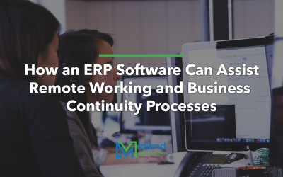 How an ERP Software can Assist Remote Working and Business Continuity Processes